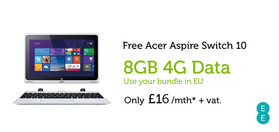Acer Aspire Switch 10 £16