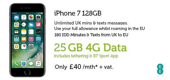 iPhone 7 128GB £40