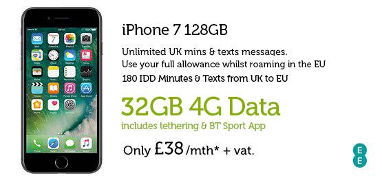 iPhone 7 128GB £38