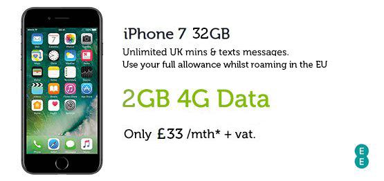 iPhone 7 32GB £33