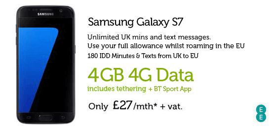 Samsung S7 £27