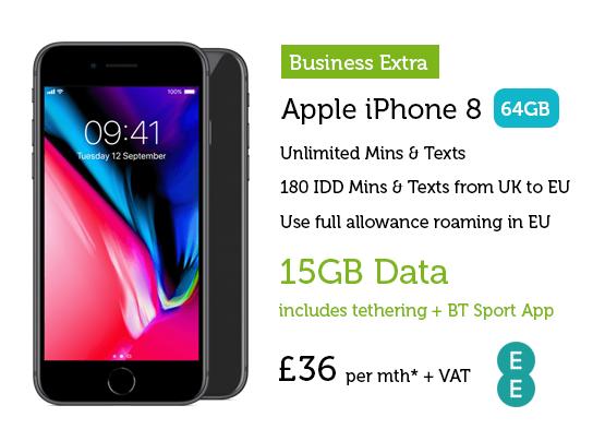 iPhone 8 64GB £36