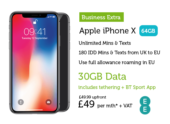 iPhone X £49