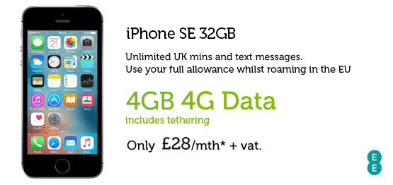 iPhone SE £28