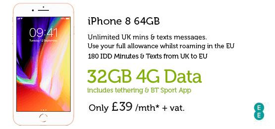 iPhone 8 64GB £39
