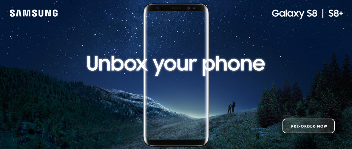 Samsung S8 Pre-order Now
