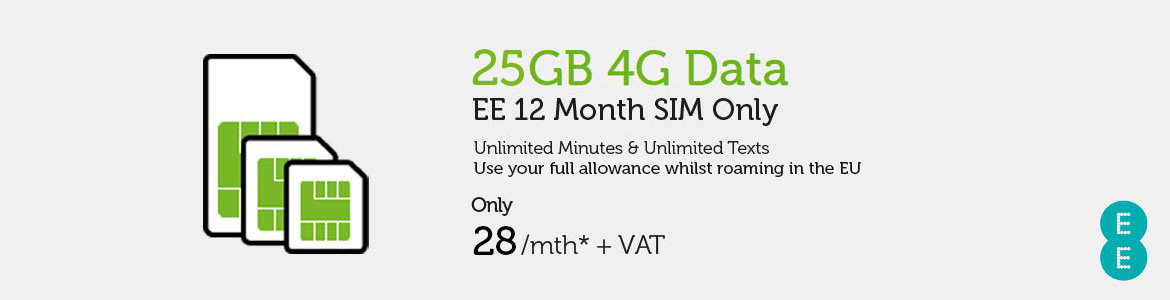 SIM Only EE £28