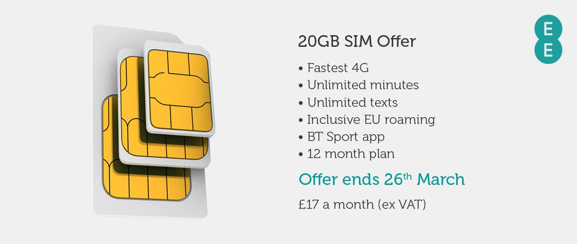 SIM Offer