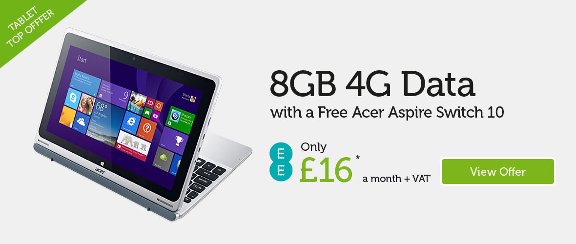 Acer Aspire Switch 10 £15 per month
